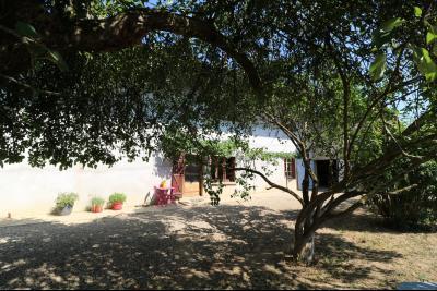 Poligny proche, vends ancienne ferme de 4 pièces, dépendances, boxes sur 6000m² de terrain., vue de face