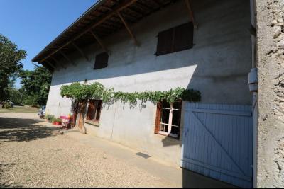Poligny proche, vends ancienne ferme de 4 pièces, dépendances, boxes sur 6000m² de terrain., vue de droite