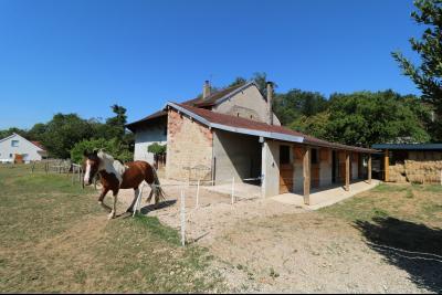 Poligny proche, vends ancienne ferme de 4 pièces, dépendances, boxes sur 6000m² de terrain., idem