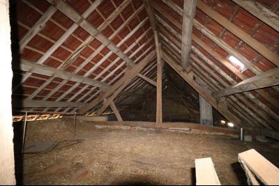 Secteur Pierre de Bresse vends corps de ferme avec dépendances sur 5500m² de terrain., grenier aménageable 230m²