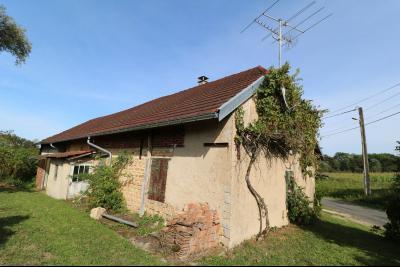 Secteur Pierre de Bresse vends corps de ferme avec dépendances sur 5500m² de terrain., vue arrière