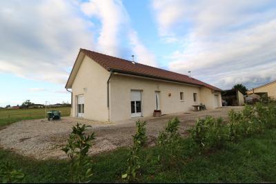 Secteur Chaussin, à vendre agréable maison récente (2008) de 7 pièces, 140m² sur 2000m² de terrain., vue gauche