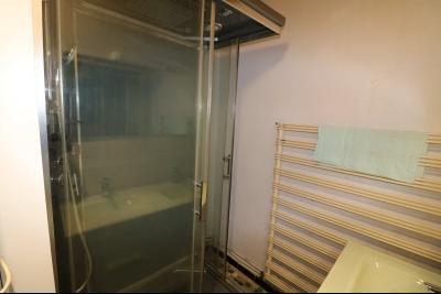 Forêt de Chaux, proche Dole, vends maison 6 pièces, 115m² habitables sur 2500m² avec dépendances., salle de douche
