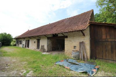 Chaussin à 2 kms vends ancienne ferme restaurée de 6 pièces, 132m² sur 2500m² de terrain clos., coté droit