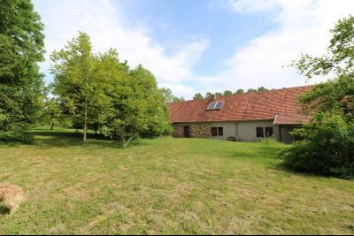 Chaussin à 2 kms vends ancienne ferme restaurée de 6 pièces, 132m² sur 2500m² de terrain clos., face arrière