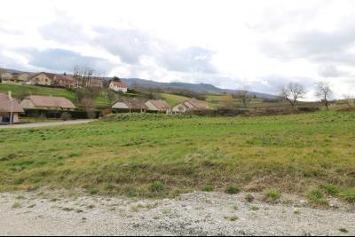 Arbois ville, vends très beau terrain de 878m² avec toutes les commodités sur place, vue au centre