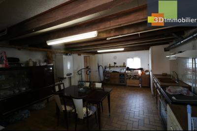 Secteur Chaussin vends belle fermette de 7 pièces,150m², dépendances 90m²sur 5200 m² de terrain clos, cuisine d