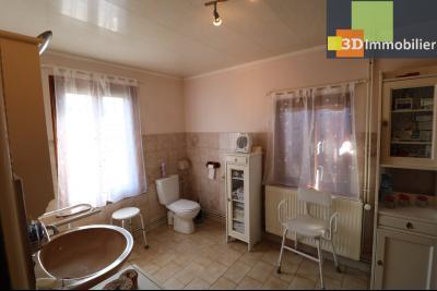 Secteur Chaussin vends belle fermette de 7 pièces,150m², dépendances 90m²sur 5200 m² de terrain clos, salle de douche