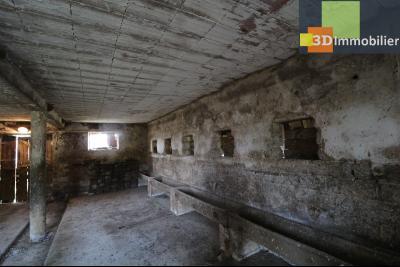 Proche Chaussin , vends ferme ancienne de 5 pièces, 90m², 500m² de dépendances sur1879m² de terrain, écuries