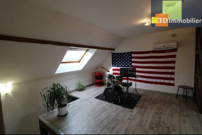 Secteur Pierre de Bresse, vends superbe maison, 9 pièces, 209m², dépendances, sur 5320m² de terrain., salon/mezzanine étage 20m²