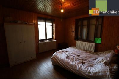Secteur Chaussin, vends grande maison, 6 pièces, 157m², dépendances sur 2219m² de terrain clos, chambre 2  16m²