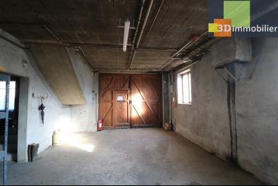 Secteur Chaussin, vends grande maison, 6 pièces, 157m², dépendances sur 2219m² de terrain clos, sous/sol 150m² entrée
