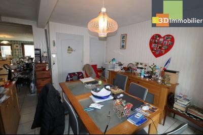 Chaussin centre vends maison de ville 5 pièces, 85m², cour 165m² et dépendances., idem