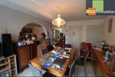 Chaussin centre vends maison de ville 5 pièces, 85m², cour 165m² et dépendances., séjour