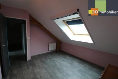 Chaussin vends confortable maison de 6 pièces, 150m², sous-sol total sur 3300 m² de terrain., chambre étage