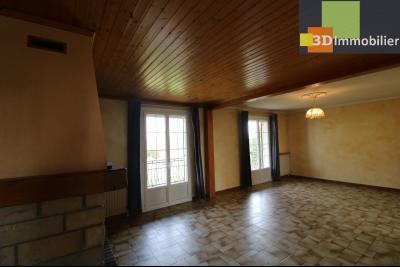 Chaussin vends confortable maison de 6 pièces, 150m², sous-sol total sur 3300 m² de terrain., salon/séjour 33m²