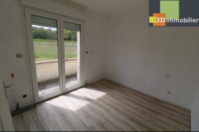 Chaussin, vends maison style provençal 7 pièces, 145 m² habitables sur terrain de 5580 m²., chambre 3 étage avec balcon