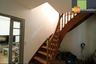 Proche CHAUSSIN vends très belle maison de 6 pièces, 196 m² , garage sur 1100m² de terrain clos., accès étage