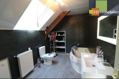 Proche CHAUSSIN vends très belle maison de 6 pièces, 196 m² , garage sur 1100m² de terrain clos., salle de bain