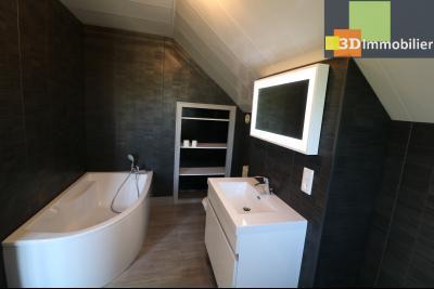 Proche CHAUSSIN vends très belle maison de 6 pièces, 196 m² , garage sur 1100m² de terrain clos., salle de bain N° 3