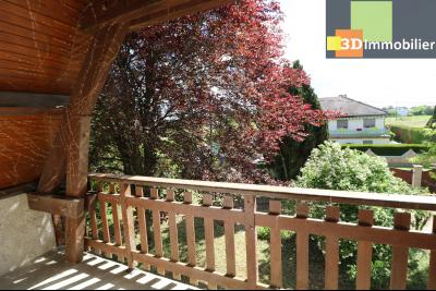 Proche CHAUSSIN vends très belle maison de 6 pièces, 196 m² , garage sur 1100m² de terrain clos., balcon