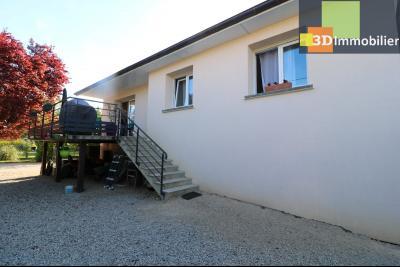 Chaussin, vends confortable maison, de 5 pièces, 83 m² habitables, s/sol sur 1300m² de terrain clos., Face avant