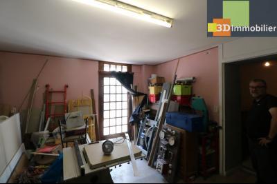 Poligny centre vends maison de ville de 7 pièces, 130m² habitables sur 200m² de terrain et garage., 1 pièce à aménager 20m² RdC