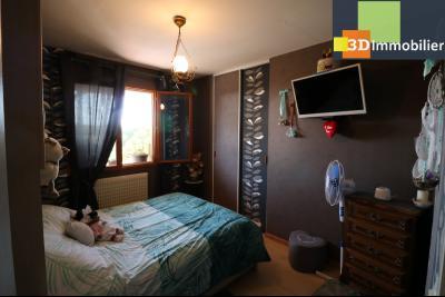 CHAUSSIN (campagne) vends agréable maison de plein-pied, 6 pièces, 118m² sur 2500m² de terrain clos, chambre 1
