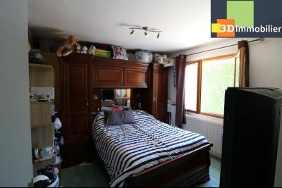 CHAUSSIN (campagne) vends agréable maison de plein-pied, 6 pièces, 118m² sur 2500m² de terrain clos, chambre 4