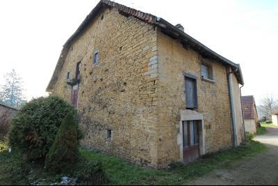 VENTE Secteur TOULOUSE LE CHATEAU, A VENDRE maison à restaurer dans sa totalité- 94 m², maison exposée nord-est avec cave voutée au sous-sol