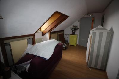 VENTE secteur COUSANCE-(39190), MAISON 155 m² env. sur sous-sol, 4 chambres dont 2 de plein pied, Bureau desservant les pièces de l