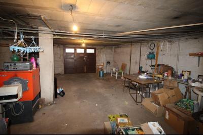 VENTE secteur COUSANCE-(39190), MAISON 155 m² env. sur sous-sol, 4 chambres dont 2 de plein pied, sous-sol
