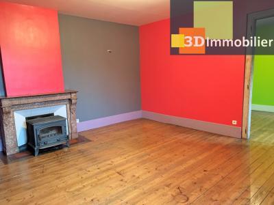 LONS-le-SAUNIER 39000 Coeur de ville bel appartement duplex 113 m²env.,  gai et coloré, 3 chambres., Salon V