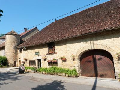 LONS-le-SAUNIER 39 JURA à 20km- Vends demeure de caractère dans beau village viticole sur 4750m²env., La demeure