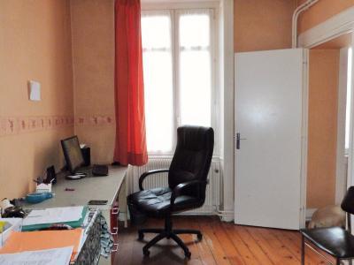 LONS-LE-SAUNIER 39000 JURA Plein Centre Appartement 139m²env. 1er étage - 3 chambres., Chambre 1 ou bureau 12.58m²env.