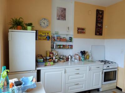 LONS-LE-SAUNIER 39000 JURA proche centre Vends appartement 90m²enV ascenseur balcon vue imprenable, Cuisine aménagée de 10.56m²env.