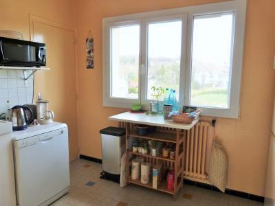 LONS-LE-SAUNIER 39000 JURA proche centre Vends appartement 90m²enV ascenseur balcon vue imprenable, Cuisine ave grand placard mural