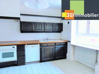 SAINT-CLAUDE 39200 JURA, à vendre centre APPARTEMENT de caractère en DUPLEX - 134.61m²-  2 chambres., Cellier-buanderie attenant à cuisine