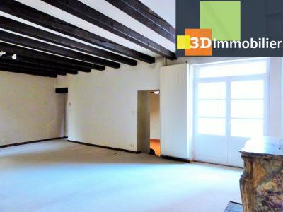 SAINT-CLAUDE 39200 JURA, à vendre centre APPARTEMENT de caractère en DUPLEX - 134.61m²-  2 chambres., Cuisine équipée lumineuse de 16.18m²