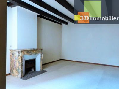 SAINT-CLAUDE 39200 JURA, à vendre centre APPARTEMENT de caractère en DUPLEX - 134.61m²-  2 chambres., Grand séjour 49.54m² plafond à la française
