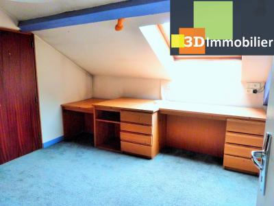 SAINT-CLAUDE 39200 JURA, à vendre centre APPARTEMENT de caractère en DUPLEX - 134.61m²-  2 chambres., Petite terrasse-véranda