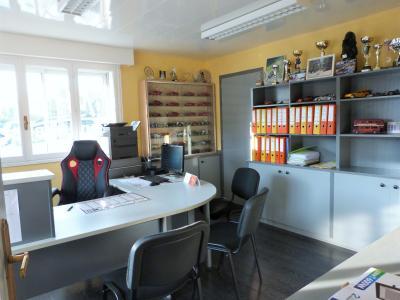 LONS LE SAUNIER 39000 JURA Vend grande MAISON INDEPENDANTE 2 appartements idéale PROFESSIONNEL., Plain-pied: bureau (ou chambre 2)