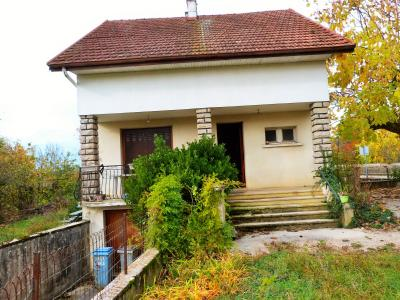 LONS-LE-SAUNIER 39 Jura 10km à vendre Maison indépendante 85m²env., 3 chambres sur terrain 840m²env., Maison non mitoyenne 85m²ev.