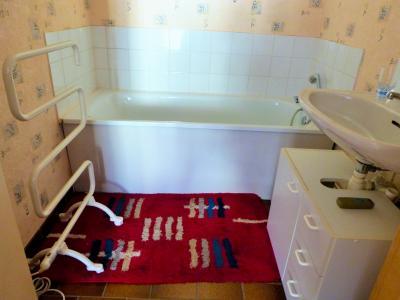 LES ROUSSES 39220 JURA à vendre APPARTEMENT 34.91m²- 1 chambre- dans copropriété bien située., Salle de bains 3.76m²