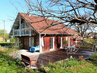 Axe LONS-le-SAUNIER / ORGELET 39 Vends Maison ossature bois 2003 de 135m²env sur terrain 1630m²env, Garage