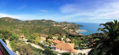 Théoule sur Mer (06 Alpes Maritimes), a vendre villa de 320 m2, vue mer panoramique époustoufflante., panorama
