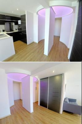 Théoule sur Mer (06), à vendre appartement contemporain, avec vue mer, terrasse, parking, cave, entrée-dégagement