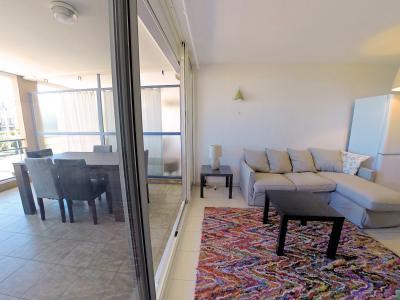 Théoule sur Mer (06 Alpes Maritimes), à vendre appartement vue mer, terrasse 12m2, parking., séjour