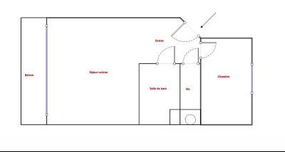 Théoule sur Mer (Alpes Maritimes), à vendre appartement vue mer, terrasse, grand garage box, plan