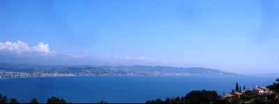 Théoule sur Mer (Alpes Maritimes), à vendre appartement vue mer, terrasse, grand garage box, panorama